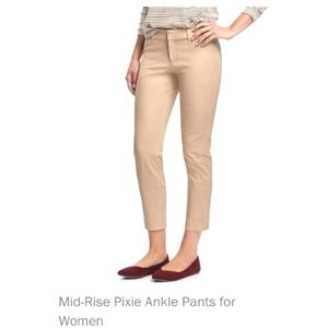 NEW Mid-rise Pixie Ankle Pants